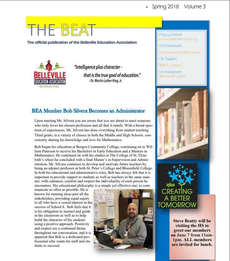 BEA Newsletter Spring 2018 for PDF