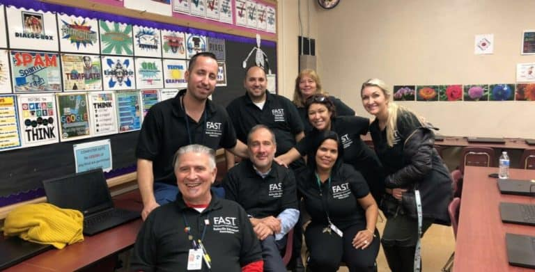 FAST District Technology Night at the Middle School