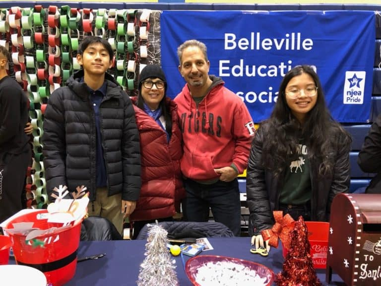 "BEA shows ""PRIDE"" at the Annual Belleville Christmas Tree Lighting"
